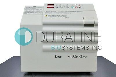 Ritter Midmark M11 Ultraclave Sterilizer Autoclave Refurbished 6 Month Warranty