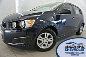2015 Chevrolet Sonic LT AUTO HATCH AIR CAMÉRA