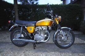 Honda CB 450 1970
