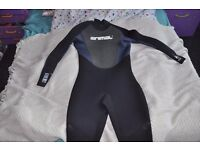 Animal AX 5/4/3 men's wetsuit (size MT) - never worn/used