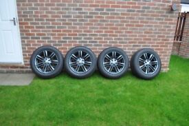17'' alloy wheels (5x108) with tyres fit to Jaguar xf , Ford ,Renault ,Citroen,Peugeot,Volvo