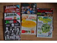 Various food magazines - check out the description