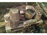 Wood for burning/recycling