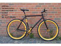 Aluminium single speed fixed gear fixie bike/ road bike/ bicycles + 1year warranty & free service 9