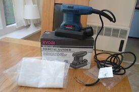 Ryobi Industrial 1/6 sheet sander. 110V Never Used.