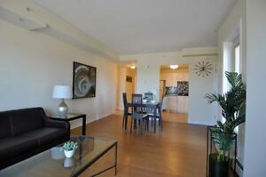 1 bdrm: in-suite laundry, underground parking & balcony!