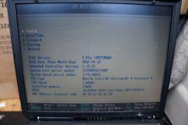 IBM Thinkpad Laptop Intel Pentium 4, 1.60ghz, 256mb
