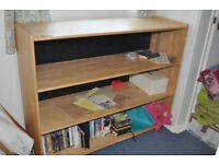 Solid pine storage on wheels perfect for kids books and toys