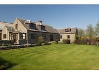 Magnificent 7 Bedroom Converted Steading and Land, Ideal Equestrian Property, 6 Miles from Aberdeen.