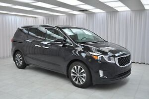2016 Kia Sedona SX 7PASS MINIVAN w/ Leather Interior, Blind Spot
