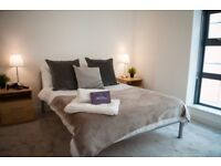 All Inclusive Two Bedroom Northern Quarter Apartment near the City Centre for a 3 month let!
