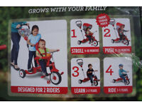 4 in 1 Trike for Two Kids