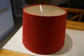 Laura Ashley Cranberry Light Shade