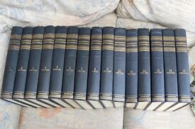 FOR SALE COMPLETE SET OF VINTAGE CHAMBERS ENCYCLOPEDIAS - 1950