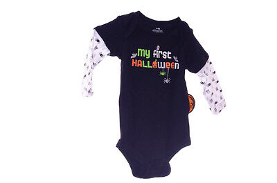 Baby Infant Boys Girls One Piece LS Shirt Top Halloween Outfit NB 0 3 6 Mo NEW - Top Baby Boy Halloween Costumes