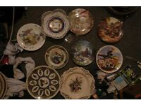 creamware and other plates