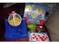 BINGO GAME ALL COMPLETE IN BOX GREAT FAMILY GAME