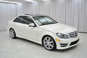 2013 Mercedes-Benz C-Class C350 4MATIC AWD LUXURY ECO SEDAN w/ B