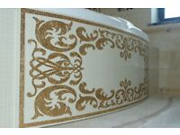 Exclusive mosaic tiles for bathrooms and etc. / Marvik Avanti Mosaic ltd