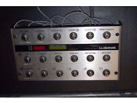 TC Electronic G System Unit with extras