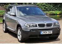BMW X3 2.5 SPORT, BMW Service History, Lady Owner, Low Miles