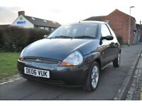 FORD KA 1.3 LUXURY 3DR PETROL (LOW MILES, FULL SERVICE HISTORY)