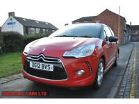 CITROEN DS3 1.6 HDI AIRDREAM DSTYLE 3DR (1 OWNER FROM NEW) FREE ROAD TAX