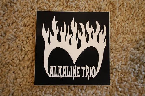 Alkaline Trio Rock Decal Bumper Car Window Sticker (S342)