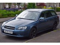 Subaru Legacy 2.5 Estate in good condition for the year, maintained regularly