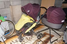 Mamas and papas Mylo travel system pram pushchair