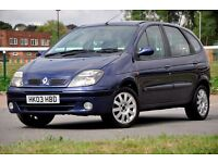 2003 Renault Scenic 1.6 16v Fidji 5dr+MPV+12 MONTHS MOT+JUST SERVICED+READY TO DRIVE AWAY