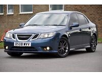 2008 Saab 9-3 1.9 TiD Vector Sport 4dr+FREE WARRANTY+TINTED WINDOWS+6 SPEEDS+VERY CLEAN+BOSE+FSH