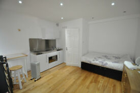 Available immediately bedsit in southfields great price with ensuite all bills included