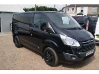 Ford Transit Custom 290 Limited Lr Pv (black) 2015