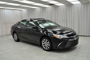 2015 Toyota Camry XLE SEDAN w/ BLUETOOTH, HEATED LEATHER, WIRELE