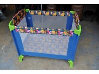 """Mothercare """"Winnie the Pooh"""" Travel Cot"""