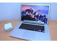"APPLE MACBOOK PRO 15"" LAPTOP. 16GB RAM-1TB SSD HYBRID -INTEL QUAD CORE i7-LOGIC- FINAL CUT-MS OFFICE"