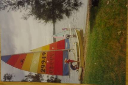 Hobie 16 catamaran with NSW registered trailer