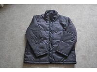 Vincelli Mens Very Dark Brown Padded Jacket Size L NEW NEVER WORN