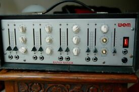 WEM amp / mixer, band mixer amplifier, for group / singer / Collector.