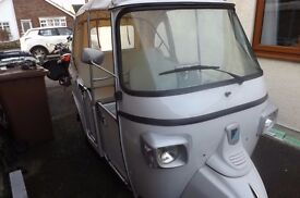 Piaggio Calessino 200cc Tuk Tuk, only 800 miles from new, almost perfect.
