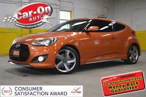 2013 Hyundai Veloster TURBO LEATHER NAV PANO ROOF TIPTRONIC LOAD