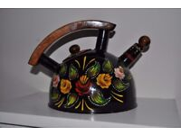 Canal art hand painted kettle