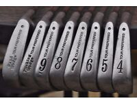 TaylorMade T-D Tour Preferred TP Forged Irons 4-SW Set TD R300 Steel Blades (RH)