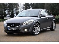2010 Volvo C30 1.6 D DRIVe SE Lux 2dr+DIESEL+HEATED SEATS+BI-XENON+FULL LEATHER+JUST SERVICED