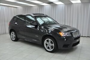 2013 BMW X3 35i x-DRIVE M-SPORT TURBO LUXURY SUV w/ BLUETOOTH,