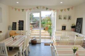 Tea Room in Croyde, Devon requires staff with barista experience.