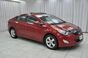 2012 Hyundai Elantra GLS 6SPD SEDAN w/ BLUETOOTH, HTD SEATS, SUN