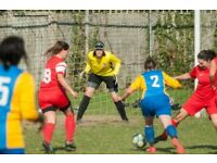 SOUTH LONDON WOMEN'S FOOTBALL CLUB - Goal Keepers Welcome!