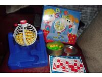 BINGO GAME ALL COMPLETE IN BOX COST £15 GREAT FAMILY GAME